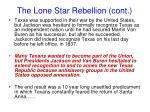 the lone star rebellion cont1