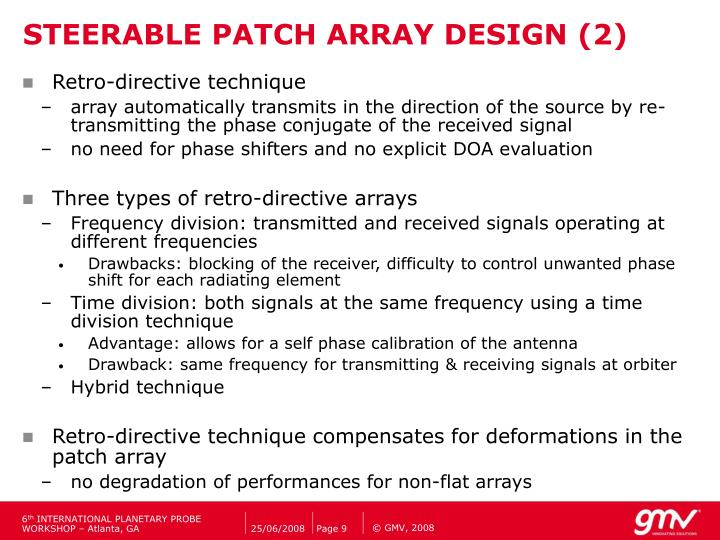 STEERABLE PATCH ARRAY DESIGN (2)