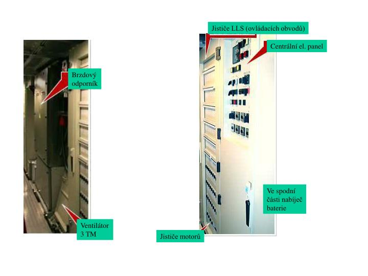 Jističe LLS (ovládacích obvodů)