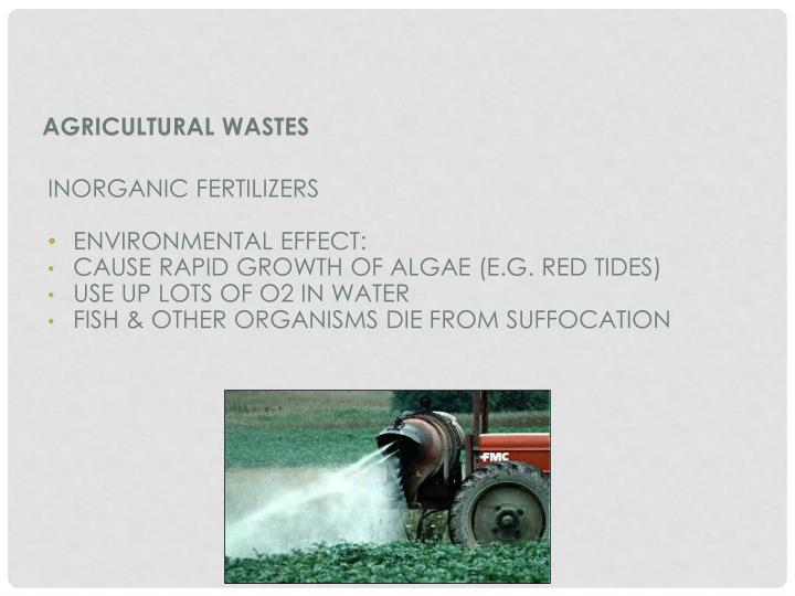 Agricultural Wastes