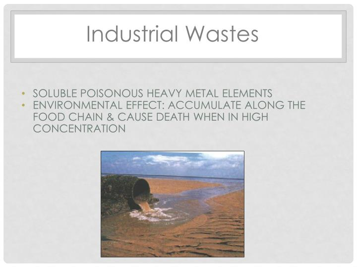 Industrial Wastes