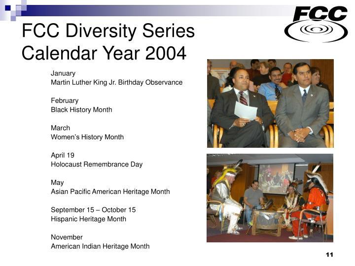 FCC Diversity Series