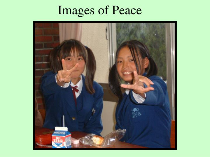 Images of Peace