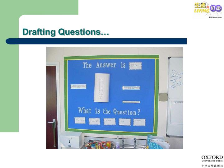 Drafting Questions…