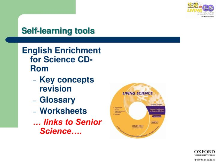 Self-learning tools