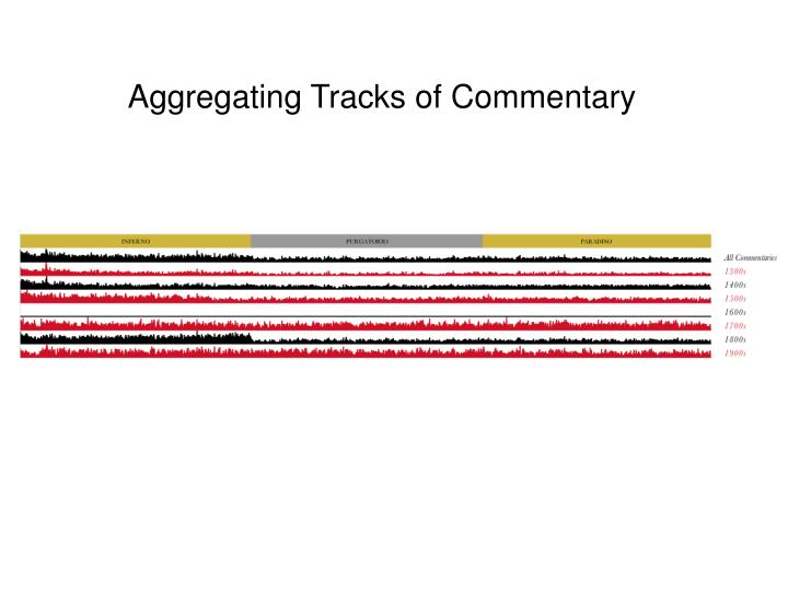 Aggregating Tracks of Commentary