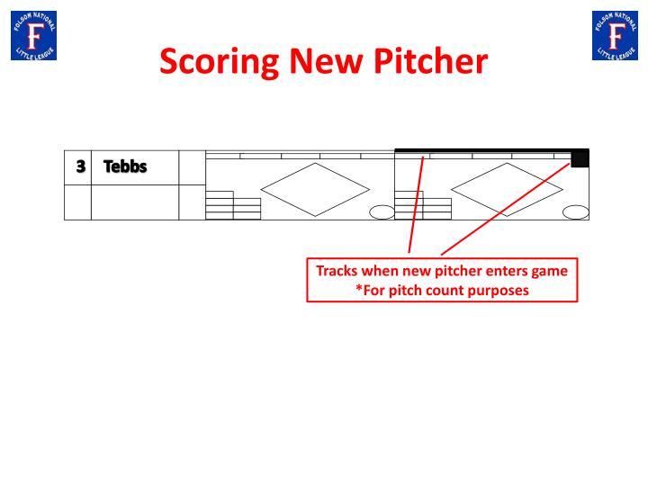Scoring New Pitcher