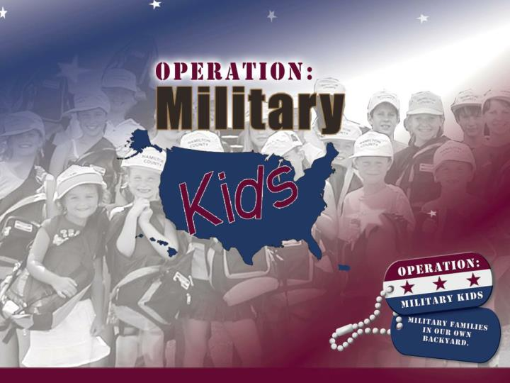 Welcome to operation military kids volunteer training for deployment cycle support