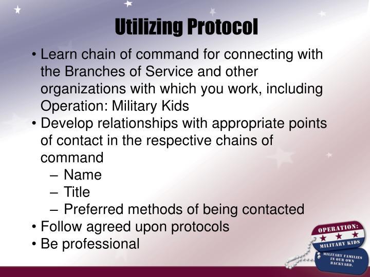 Utilizing Protocol