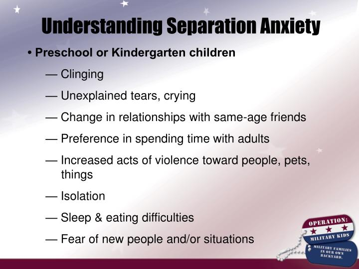 Understanding Separation Anxiety