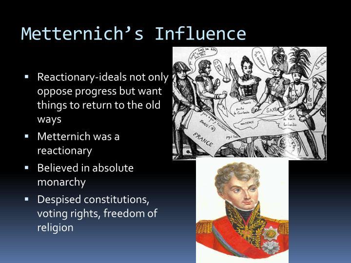 Metternich's Influence