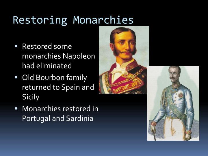 Restoring Monarchies