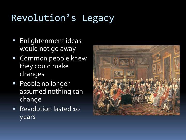 Revolution's Legacy