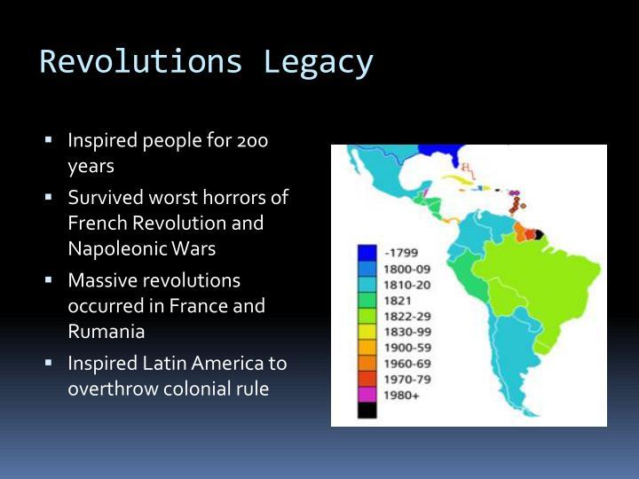 Revolutions Legacy