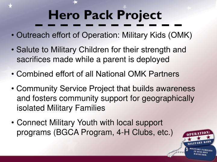 Hero Pack Project