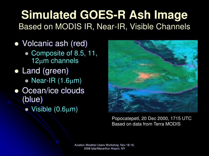 Simulated GOES-R Ash Image