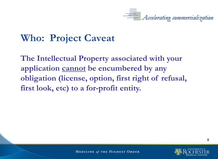 Who:  Project Caveat