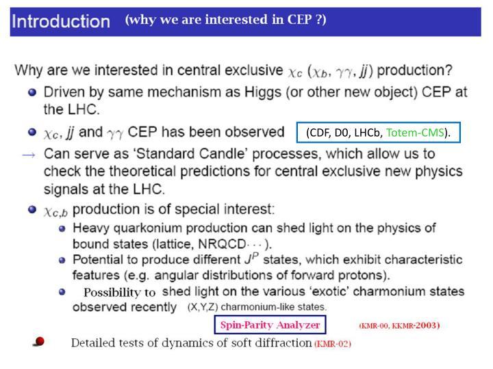 (CDF, D0, LHCb,