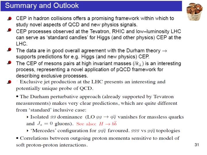 Exclusive jet production at the LHC presents an important and potentially unique probe of  QCD.