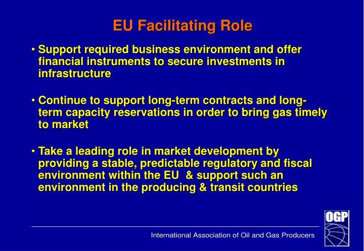 EU Facilitating Role