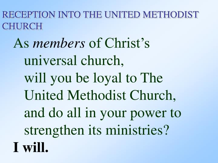 Baptismal Covenant I