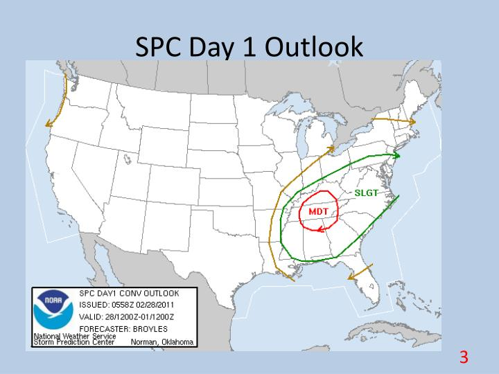 SPC Day 1 Outlook