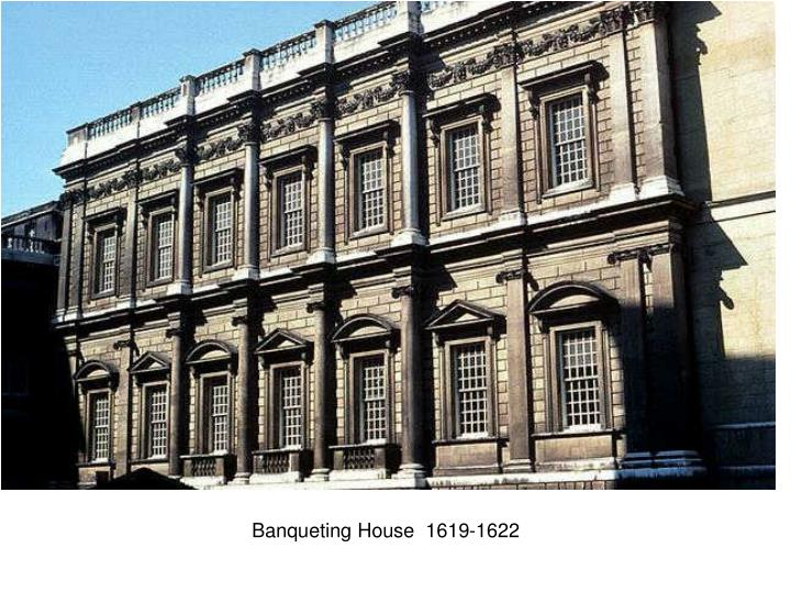 Banqueting House  1619-1622