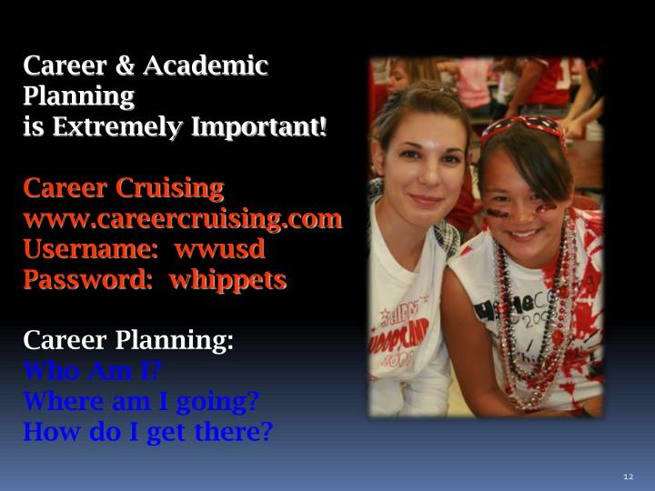 Career & Academic Planning