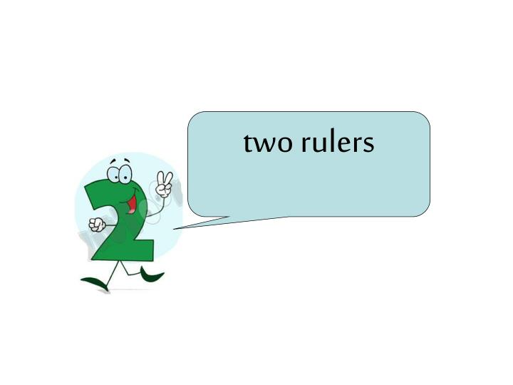 two rulers