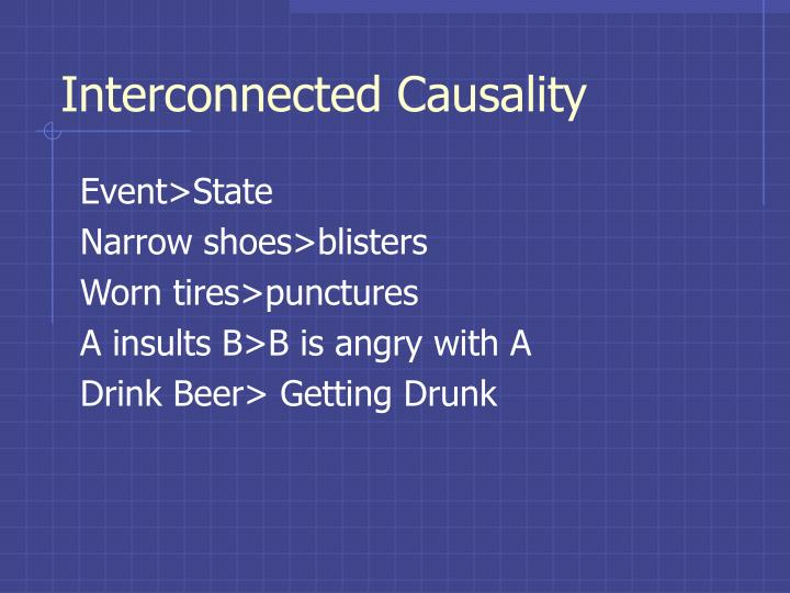 Interconnected Causality