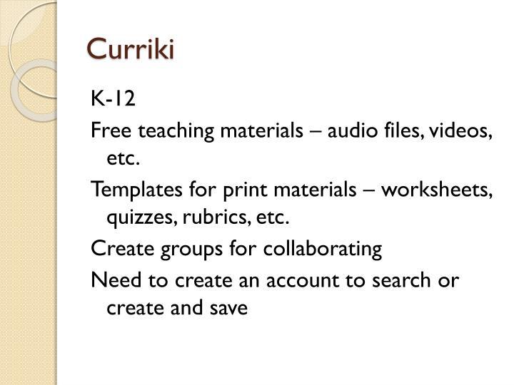 Curriki