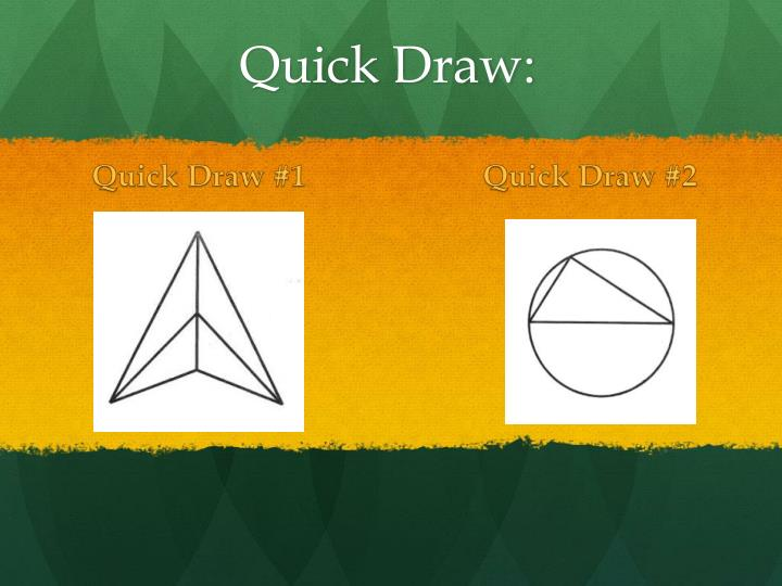 Quick Draw #1