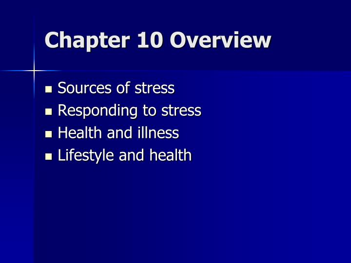 Chapter 10 Overview
