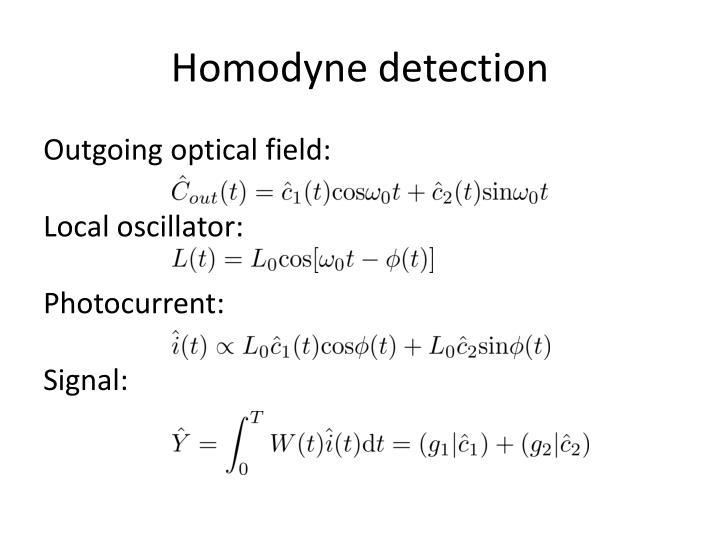 Homodyne