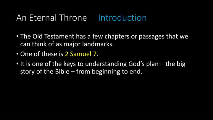 An eternal throne introduction1