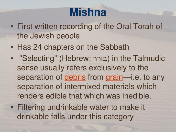Mishna