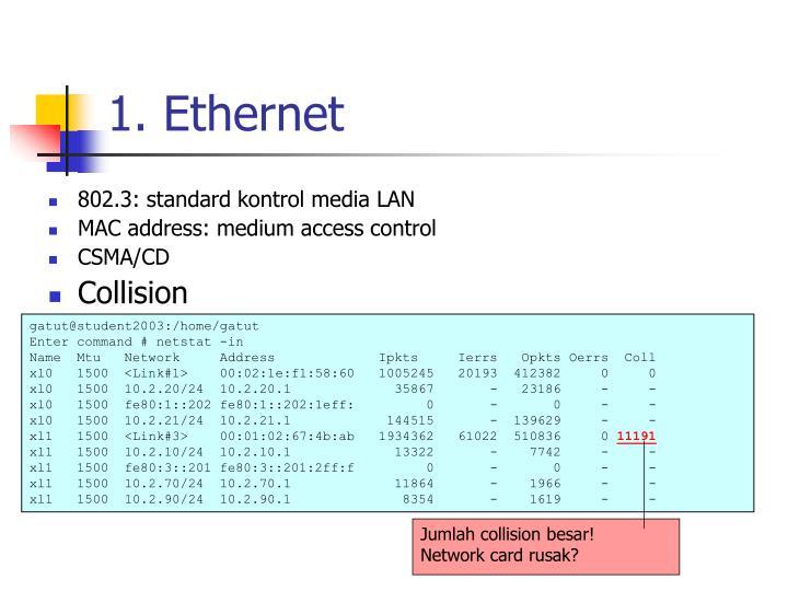 1. Ethernet