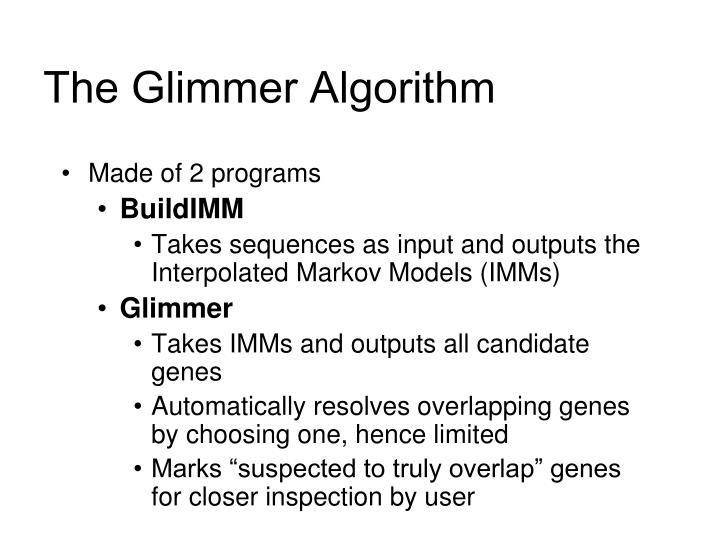 The Glimmer Algorithm
