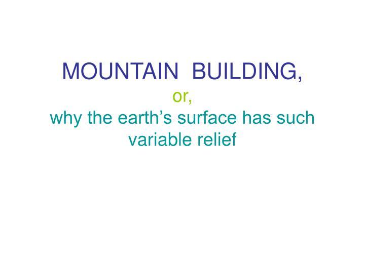 MOUNTAIN  BUILDING,