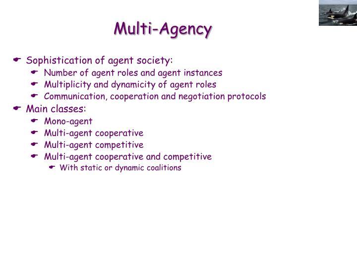 Multi-Agency