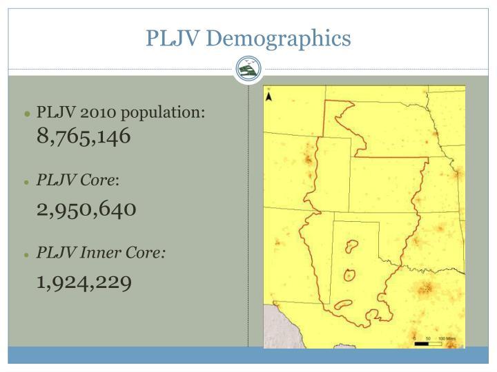PLJV Demographics