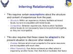 inferring relationships