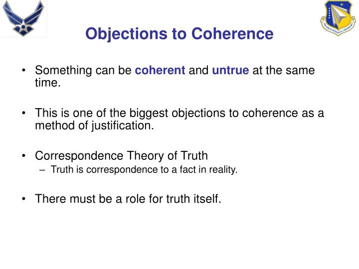 Objections to Coherence