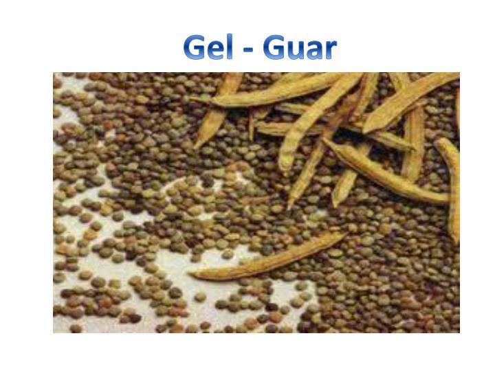 Gel - Guar