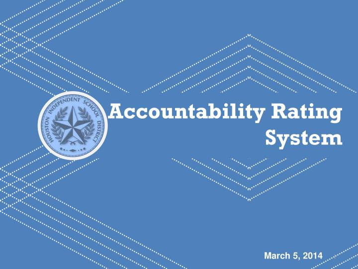 Accountability Rating