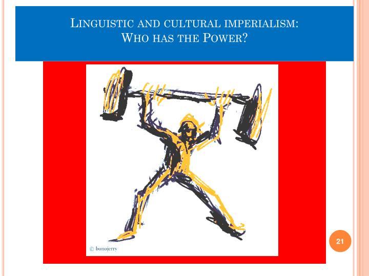 Linguistic imperialism essays