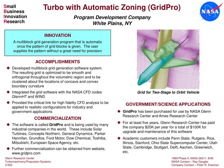 Turbo with Automatic Zoning (GridPro)