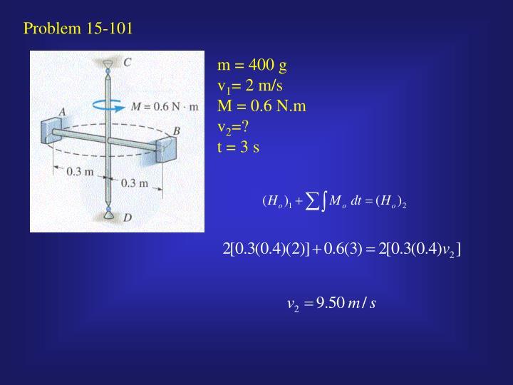 Problem 15-101