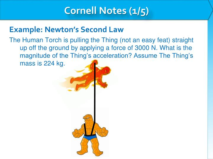 Cornell Notes (1/5)