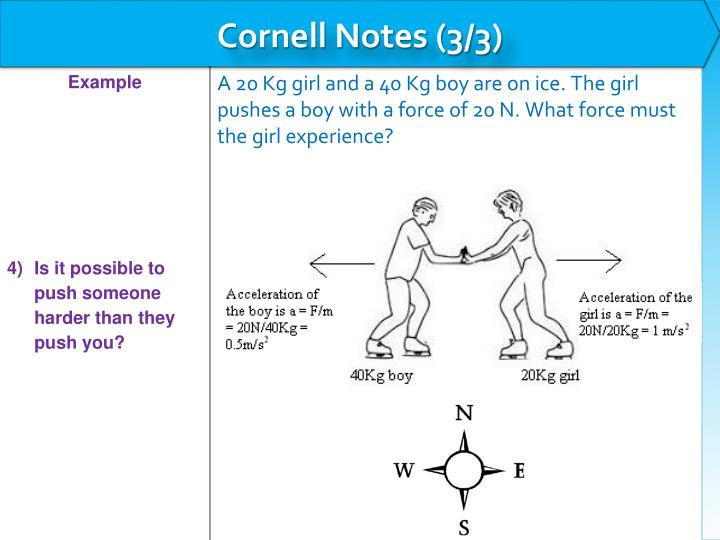 Cornell Notes (3/3)